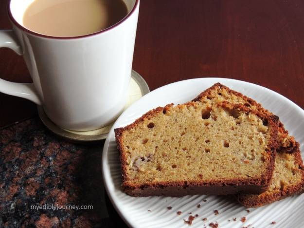 Banana Bread with Coffee