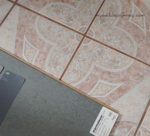New marmoleum on old floor