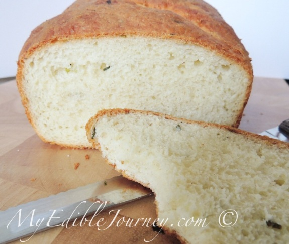 Sliced Chive Bread from My Edible Journey via Mama_B