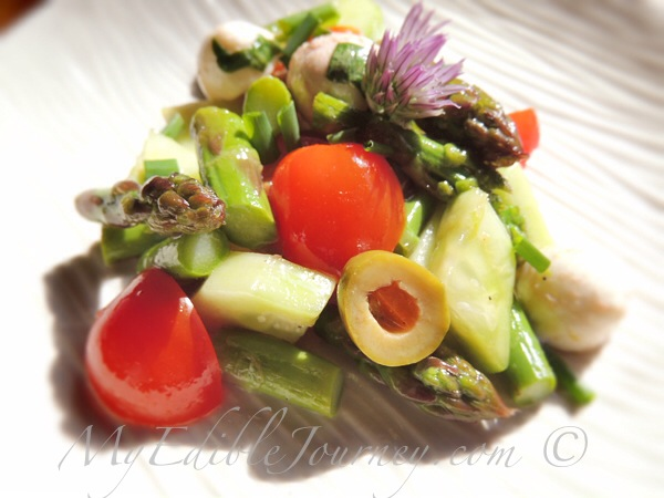 Asparagus Salad ~ My Edible Journey