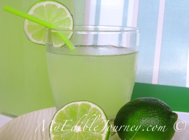 Old fashioned limeade ~My Edible Journey