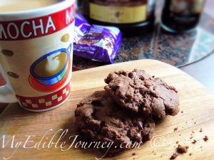 Mocha Chip Cookies ~My Edible Journey