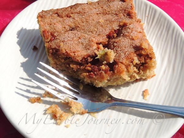 Rhubarb Cake ~ My Edible Journey