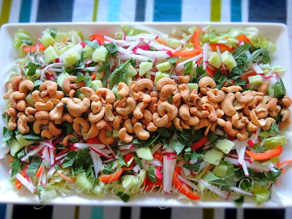 Thai Inspired Salad via My Edible Journey