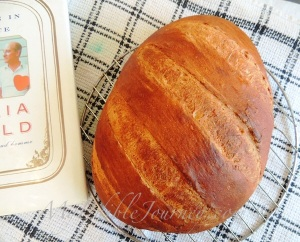 Crusty bread and a good book |My Edible Journey