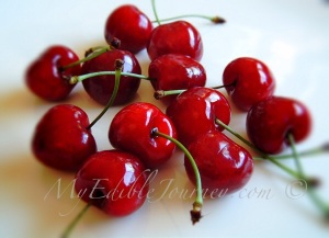 Fresh Cherries |My Edible Journey
