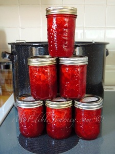 Strawberry Honey Jam |My Edible Journey