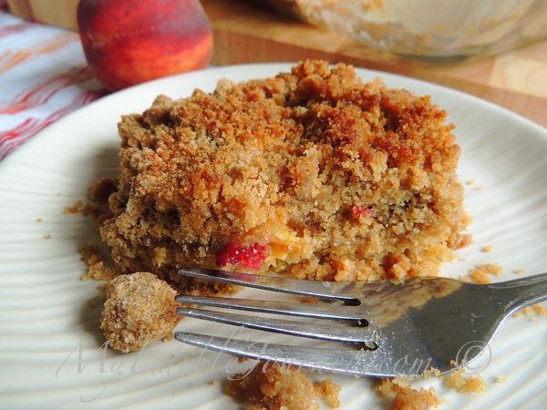 Peach Raspberry Platz |My Edible Journey
