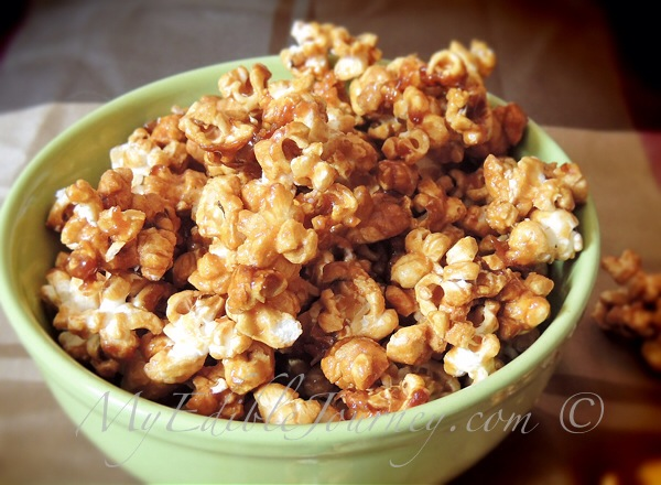 Caramel Corn |My Edible Journey