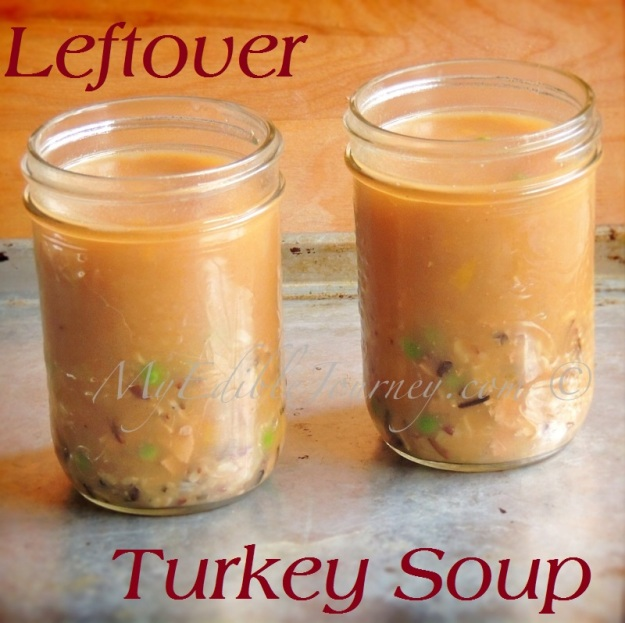 Leftover Turkey Soup |My Edible Journey