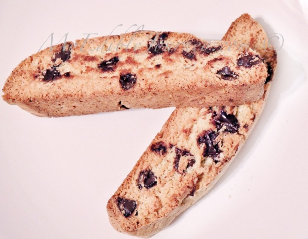 Brown Butter Chocolate Chip Biscotti |My Edible Journey