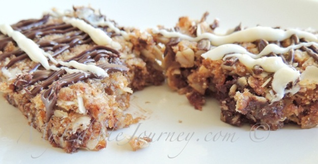 Chewy Nut Free Granola Bars |My Edible Journey