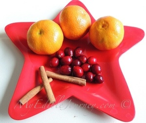 Clementines, Cranberries & Cinnamon | My Edible Journey