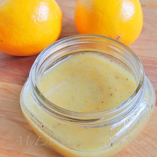 Maple Meyer Lemon Vinaigrette   My Edible Journey
