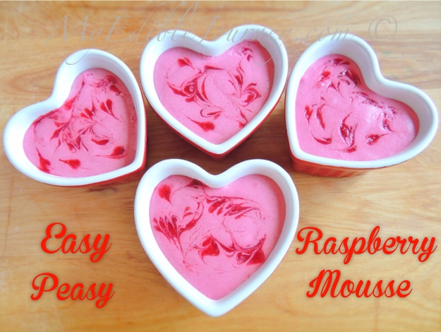 Raspberry Mousse | My Edible Journey