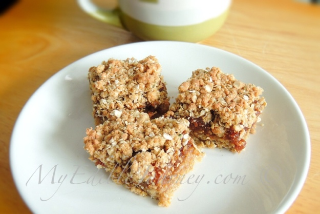 Maple Fig Squares | My Edible Journey
