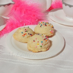 Vanilla Ice Cream Cookies | My Edible Journey