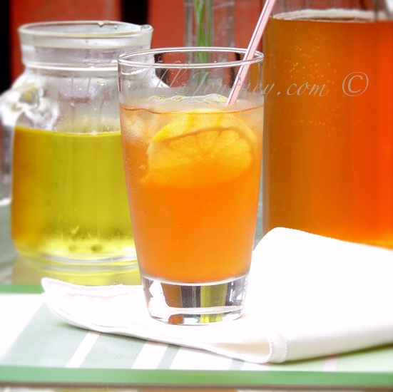 Lemon Iced Tea | My Edible Journey