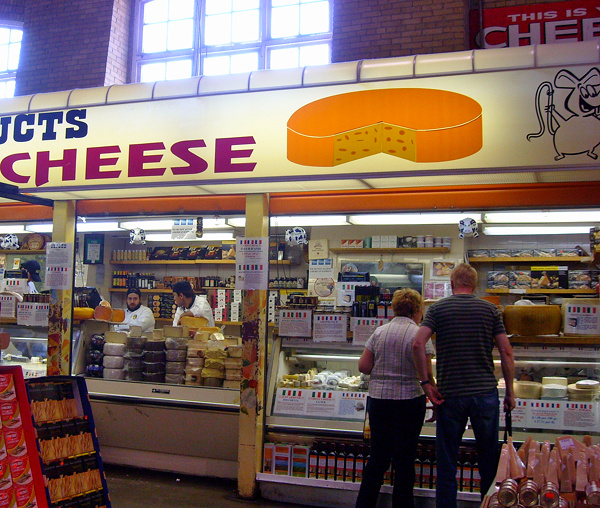 Cheese Shop at St. Lawrence Market in Toronto