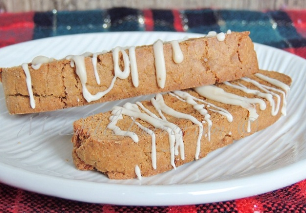 Gingersnap Biscotti | My Edible Journey