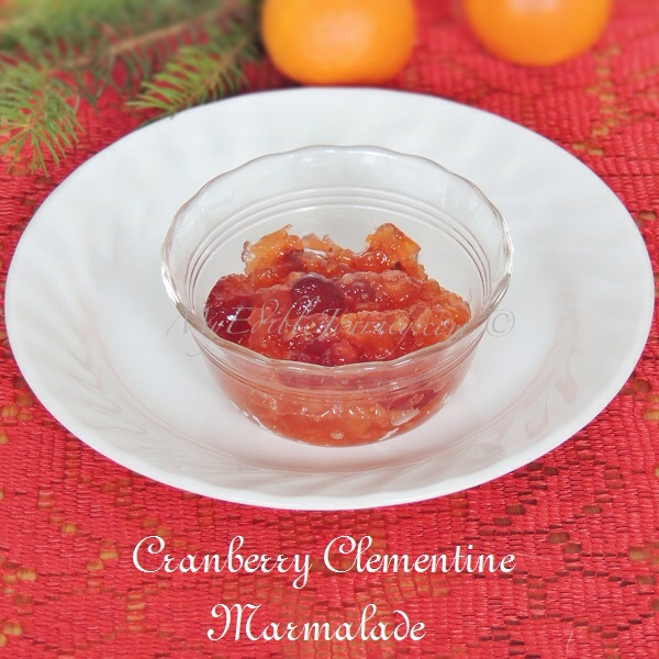 Cranberry Clementine Marmalade | My Edible Journey