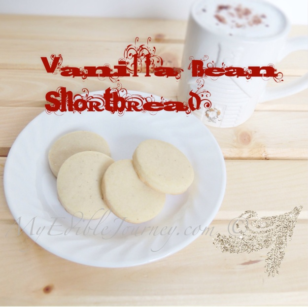 Vanilla Bean Shortbreads | My Edible Journey