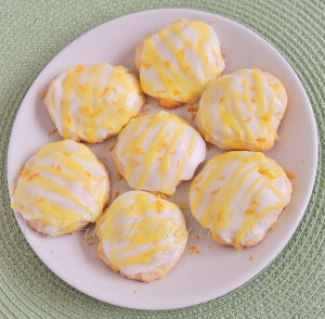 Citrus Puff Cookies | My Edible Journey