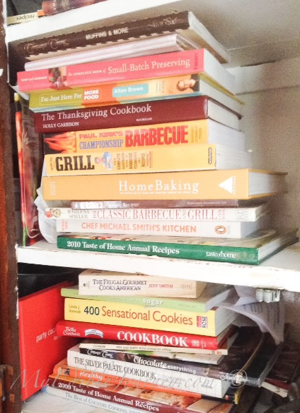 More cookbooks |myediblejourney.com