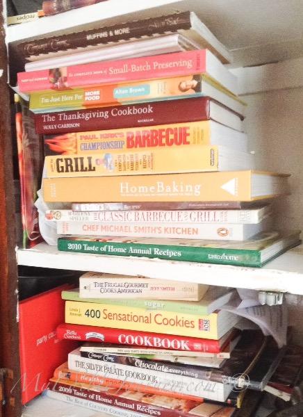 More cookbooks |myediblejourney.com