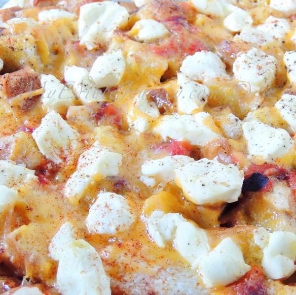 Cheesy Brunch Bake | My Edible Journey
